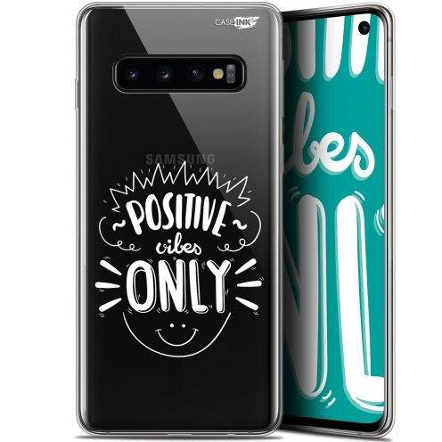"Carcasa Gel Extra Fina Samsung Galaxy S10 (6.1"") Design Positive Vibes Only"