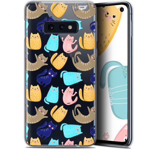 "Carcasa Gel Extra Fina Samsung Galaxy S10e (5.8"") Design Chat Danse"