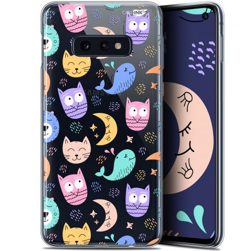 "Carcasa Gel Extra Fina Samsung Galaxy S10e (5.8"") Design Chat Hibou"