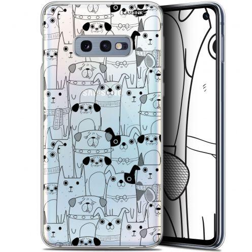 """Carcasa Gel Extra Fina Samsung Galaxy S10e (5.8"""") Design Chien Noir"""