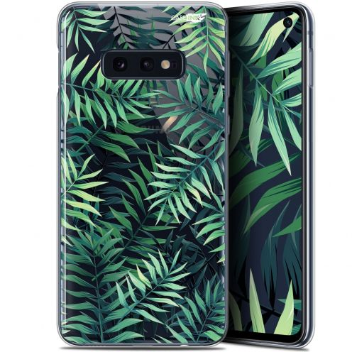 "Carcasa Gel Extra Fina Samsung Galaxy S10e (5.8"") Design Feuilles des Tropiques"