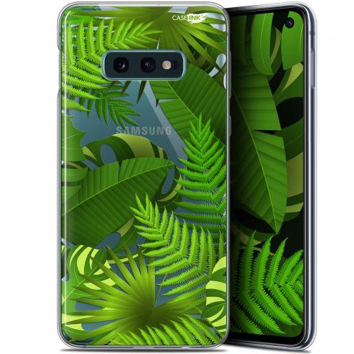 "Carcasa Gel Extra Fina Samsung Galaxy S10e (5.8"") Design Plantes des Tropiques"
