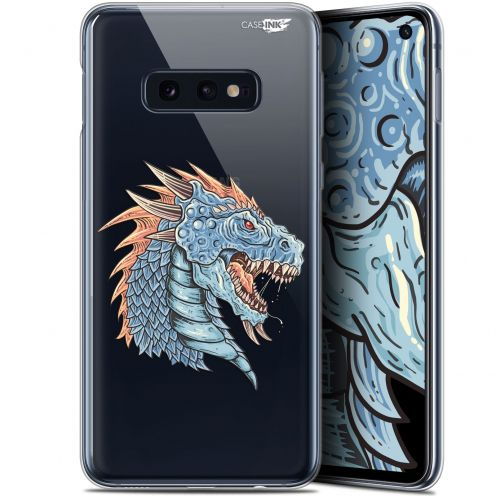 "Carcasa Gel Extra Fina Samsung Galaxy S10e (5.8"") Design Dragon Draw"