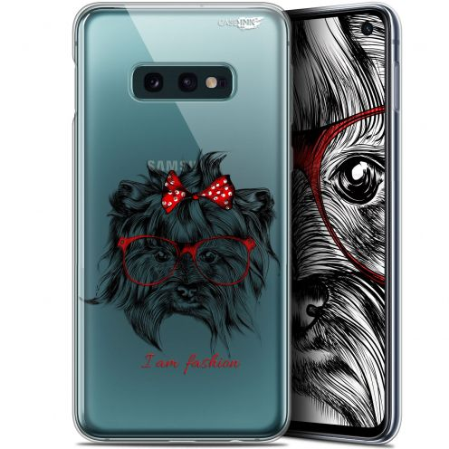 "Carcasa Gel Extra Fina Samsung Galaxy S10e (5.8"") Design Fashion Dog"