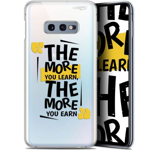 "Carcasa Gel Extra Fina Samsung Galaxy S10e (5.8"") Design The More You Learn"