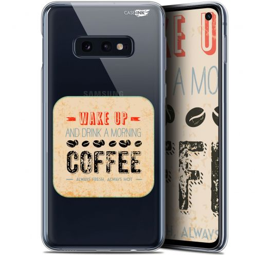 "Carcasa Gel Extra Fina Samsung Galaxy S10e (5.8"") Design Wake Up With Coffee"
