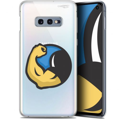 "Carcasa Gel Extra Fina Samsung Galaxy S10e (5.8"") Design Monsieur Muscle"