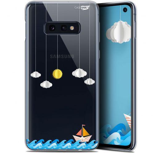 "Carcasa Gel Extra Fina Samsung Galaxy S10e (5.8"") Design Petit Bateau en Mer"