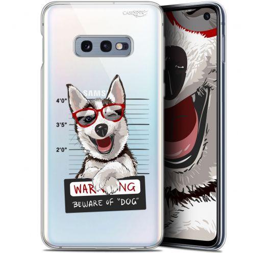 "Carcasa Gel Extra Fina Samsung Galaxy S10e (5.8"") Design Beware The Husky Dog"