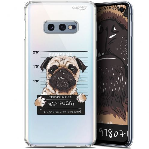 "Carcasa Gel Extra Fina Samsung Galaxy S10e (5.8"") Design Beware The Puggy Dog"