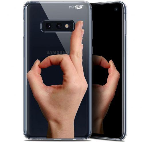 "Carcasa Gel Extra Fina Samsung Galaxy S10e (5.8"") Design Le Jeu du Rond"