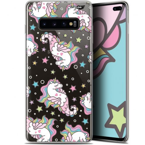"Carcasa Gel Extra Fina Samsung Galaxy S10+ (6.4"") Design Licorne Dormante"