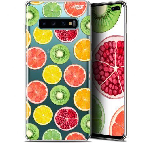 "Carcasa Gel Extra Fina Samsung Galaxy S10+ (6.4"") Design Fruity Fresh"