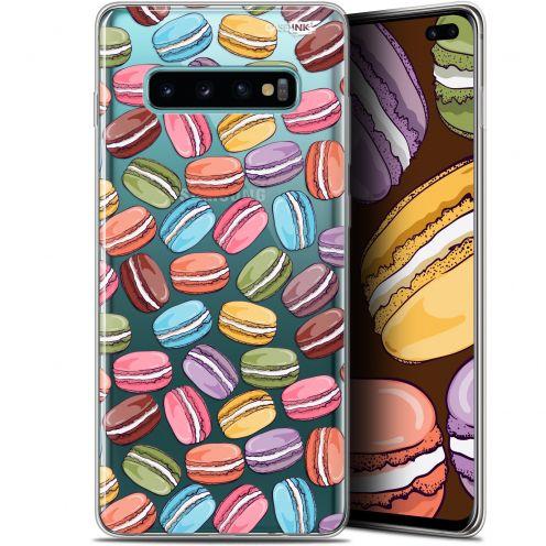 "Carcasa Gel Extra Fina Samsung Galaxy S10+ (6.4"") Design Macarons"