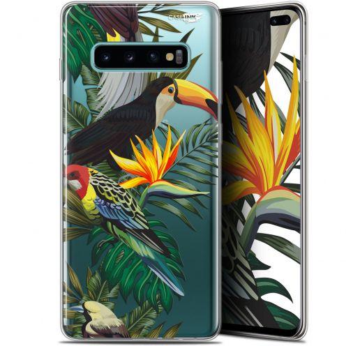 """Carcasa Gel Extra Fina Samsung Galaxy S10+ (6.4"""") Design Toucan Tropical"""