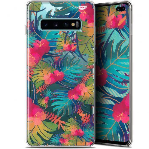 "Carcasa Gel Extra Fina Samsung Galaxy S10+ (6.4"") Design Couleurs des Tropiques"