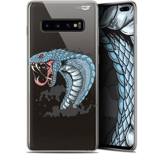"Carcasa Gel Extra Fina Samsung Galaxy S10+ (6.4"") Design Cobra Draw"