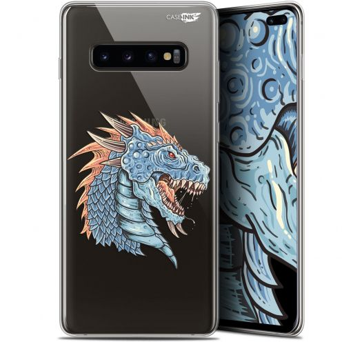 "Carcasa Gel Extra Fina Samsung Galaxy S10+ (6.4"") Design Dragon Draw"
