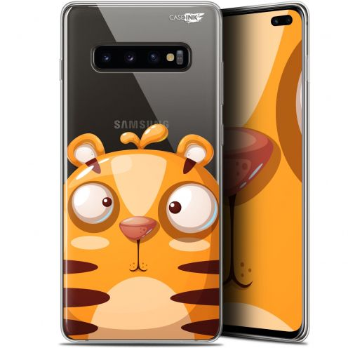 "Carcasa Gel Extra Fina Samsung Galaxy S10+ (6.4"") Design Cartoon Tiger"