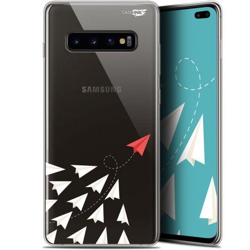 "Carcasa Gel Extra Fina Samsung Galaxy S10+ (6.4"") Design Papier Volant"