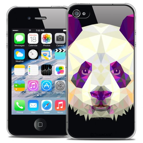 Carcasa Crystal Extra Fina iPhone 4/4S Polygon Animals Panda