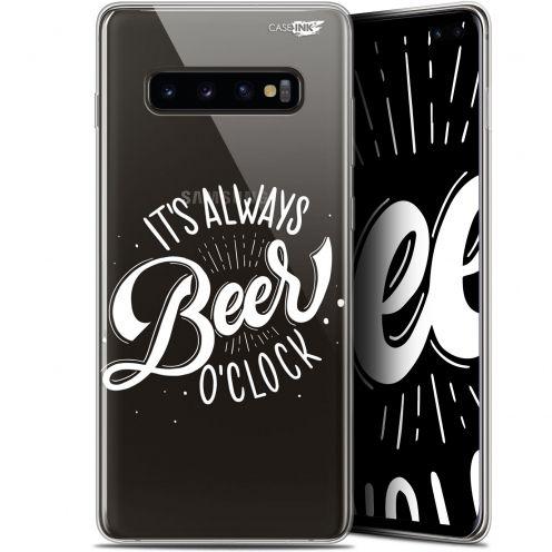 "Carcasa Gel Extra Fina Samsung Galaxy S10+ (6.4"") Design Its Beer O'Clock"