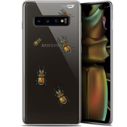 """Carcasa Gel Extra Fina Samsung Galaxy S10+ (6.4"""") Design Petits Scarabés"""