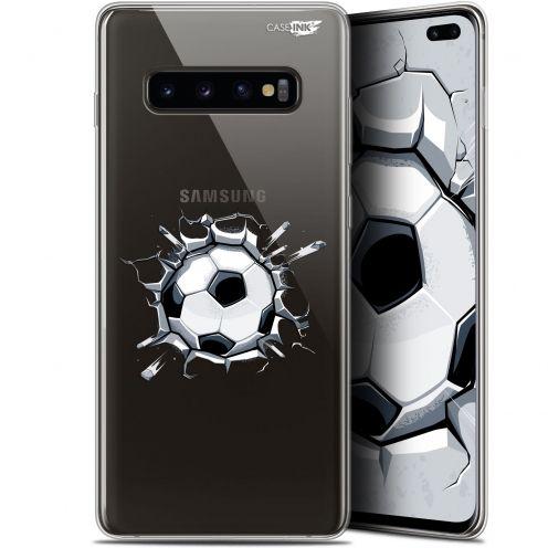 """Carcasa Gel Extra Fina Samsung Galaxy S10+ (6.4"""") Design Le Balon de Foot"""