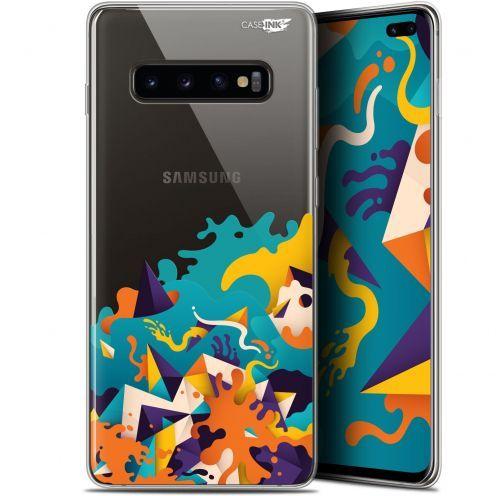 "Carcasa Gel Extra Fina Samsung Galaxy S10+ (6.4"") Design Les Vagues"