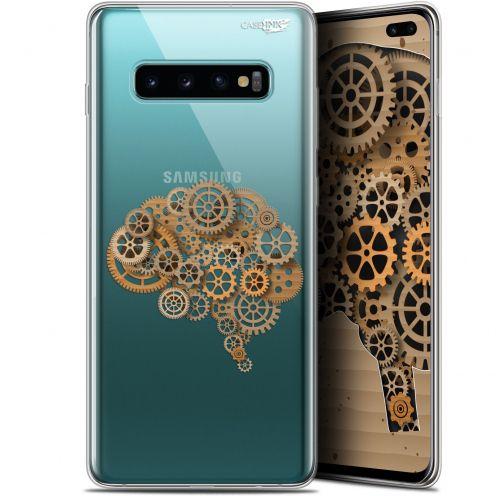 "Carcasa Gel Extra Fina Samsung Galaxy S10+ (6.4"") Design Mécanismes du Cerveau"