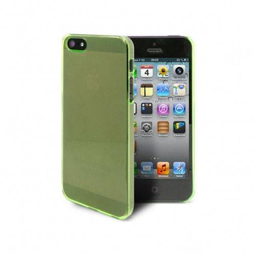 Casco iPhone 5 cristal verde