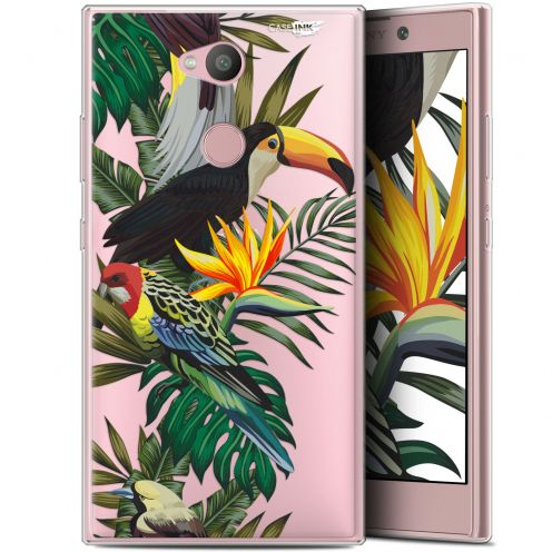 "Carcasa Gel Extra Fina Sony Xperia L2 (5.5"") Design Toucan Tropical"