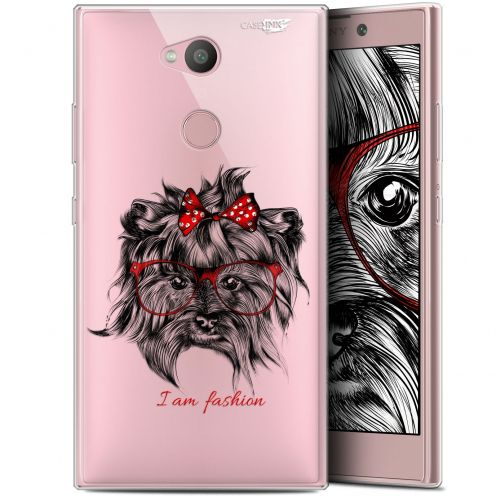 "Carcasa Gel Extra Fina Sony Xperia L2 (5.5"") Design Fashion Dog"