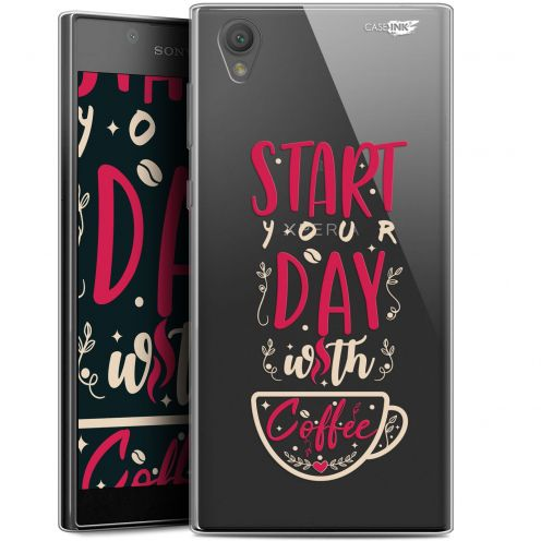 "Carcasa Gel Extra Fina Sony Xperia L1 (5.5"") Design Start With Coffee"