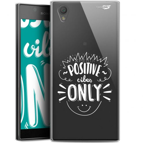 "Carcasa Gel Extra Fina Sony Xperia L1 (5.5"") Design Positive Vibes Only"