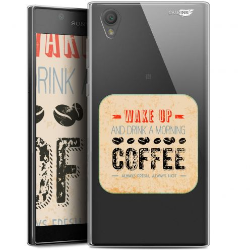 "Carcasa Gel Extra Fina Sony Xperia L1 (5.5"") Design Wake Up With Coffee"