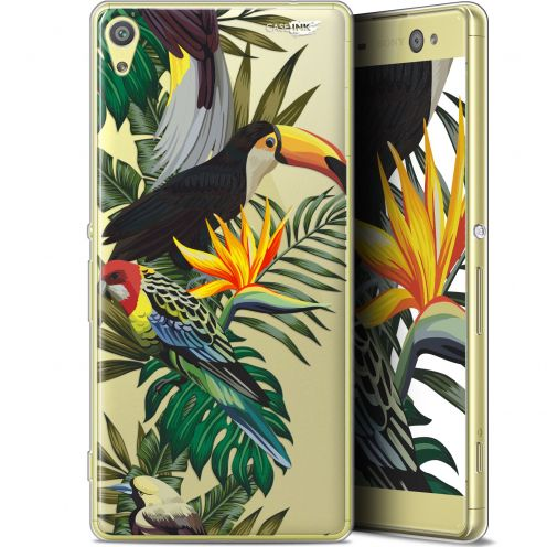 "Carcasa Gel Extra Fina Sony Xperia XA Ultra (6"") Design Toucan Tropical"