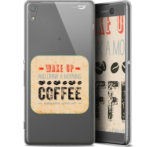 "Carcasa Gel Extra Fina Sony Xperia XA Ultra (6"") Design Wake Up With Coffee"