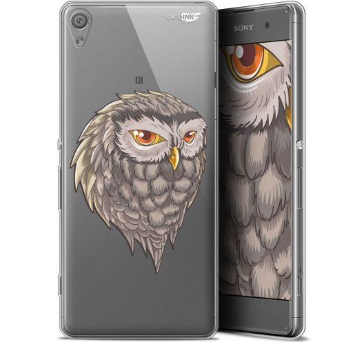 "Carcasa Gel Extra Fina Sony Xperia XA (5"") Design Hibou Draw"