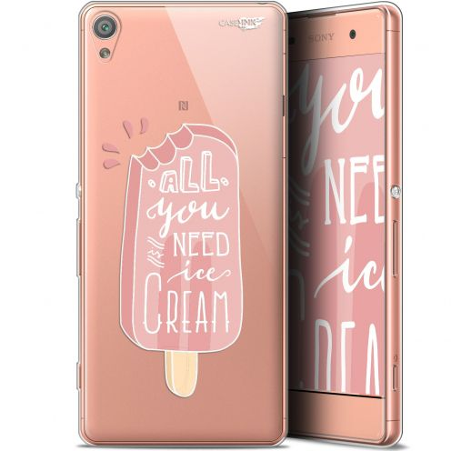 "Carcasa Gel Extra Fina Sony Xperia XA (5"") Design Ice Cream"