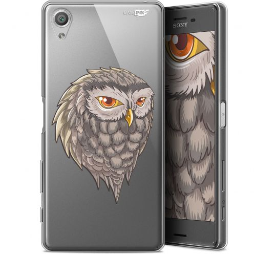 "Carcasa Gel Extra Fina Sony Xperia X (5"") Design Hibou Draw"