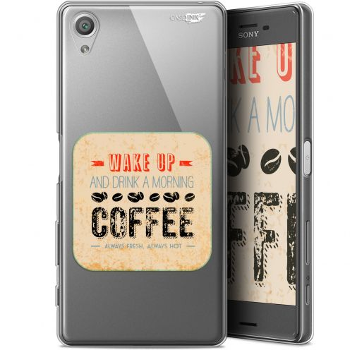 "Carcasa Gel Extra Fina Sony Xperia X (5"") Design Wake Up With Coffee"
