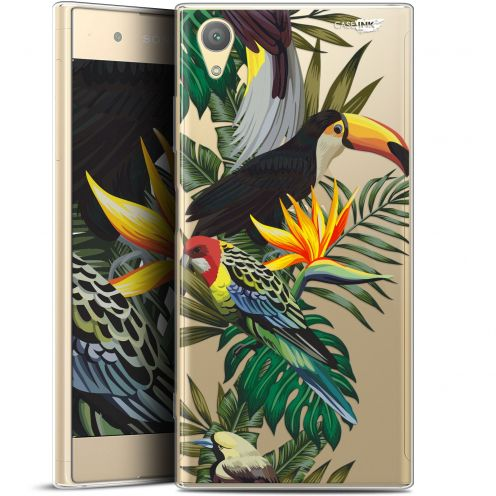 "Carcasa Gel Extra Fina Sony Xperia XA1 PLUS (5.5"") Design Toucan Tropical"