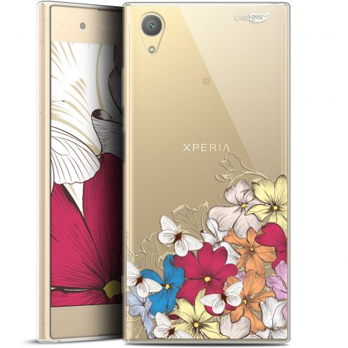 "Carcasa Gel Extra Fina Sony Xperia XA1 PLUS (5.5"") Design Nuage Floral"