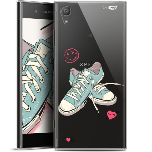 "Carcasa Gel Extra Fina Sony Xperia XA1 PLUS (5.5"") Design Mes Sneakers d'Amour"