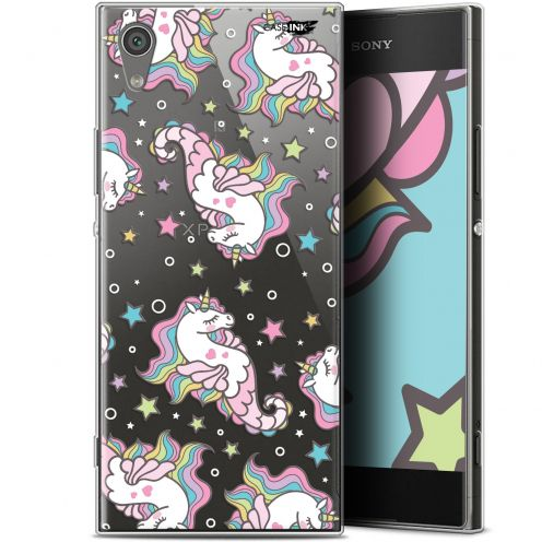 "Carcasa Gel Extra Fina Sony Xperia XA1 (5"") Design Licorne Dormante"