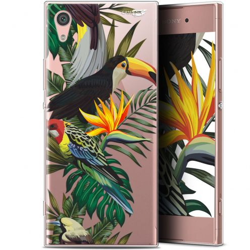 "Carcasa Gel Extra Fina Sony Xperia XA1 (5"") Design Toucan Tropical"