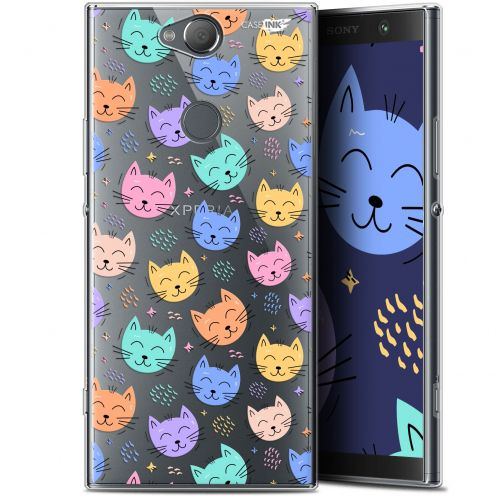 "Carcasa Gel Extra Fina Sony Xperia XA2 PLUS (6"") Design Chat Dormant"
