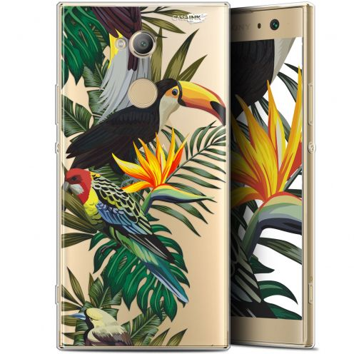 "Carcasa Gel Extra Fina Sony Xperia XA2 ULTRA (6"") Design Toucan Tropical"