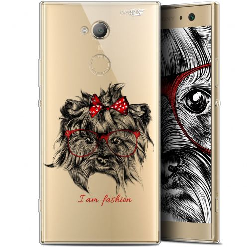 "Carcasa Gel Extra Fina Sony Xperia XA2 ULTRA (6"") Design Fashion Dog"